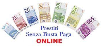 Prestiti Senza Busta Paga Online